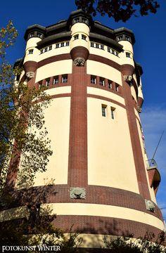 #Wasserturm in #Mönchengladbach | Copyright: Fotokunst Winter | www.fototour-nrw.de
