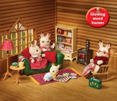 buy cosy living room online sylvanian families - Sylvanian Families Living Room Set