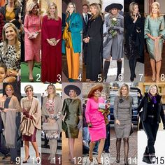 "429 Me gusta, 80 comentarios - Queen Maxima (@queen.maxima) en Instagram: ""The outfits of Queen Maxima in February. What is your favorite?  #queenmaxima #queen #netherlands…"" Dutch Royalty, English Royalty, Queen Victoria Prince Albert, Queen Maxima, Royal Style, Fascinators, Royal Fashion, Meghan Markle, Old Women"