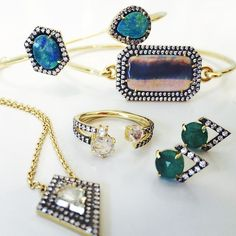 @JEMMA WYNNE appeals to women of all ages! #young #old #anyage #inspired #diamonds #bracelets #ring #opals #earrings #emeralds #rosecutdiamond #necklace #want #oxidized #singlestonemissionstreet
