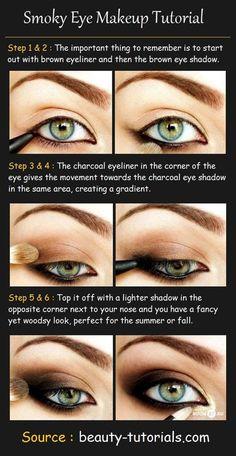 Brow Shadow Eye Makeup Tutorial #makeup #eyeshadow #beauty