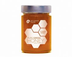MY GREEK TASTE HONEY LABEL 2013
