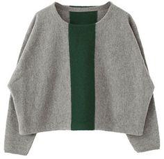 クールビューティーを目指して。KBF センターラインニット/center line knit on ShopStyle