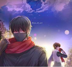 By yuu_chi_art on ig Mobile Legend Wallpaper, Hero Wallpaper, Itachi Uchiha, Sasunaru, Alucard Mobile Legends, Moba Legends, Anime Kimono, The Legend Of Heroes, Cute Anime Chibi