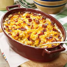 Beer Macaroni & Cheese Recipe -Creamy with a hint of beer, this cheesy mac is one of our favorites for a big family dinner. —Lauren Petersen, Marysville, Washington