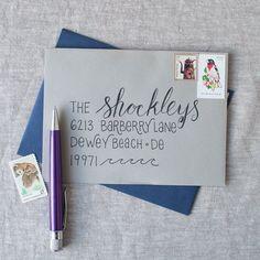 The Lettermate - Envelope Addressing Template