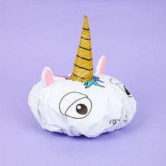 NPW Unicorn Shower Cap - Available from Roo's Beach UK