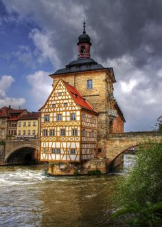 Altes Rathaus, Bamberg. Germany