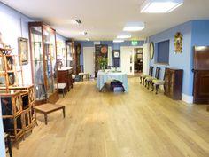 The reception at Sworders Fine Art Auctioneers The Saleroom, Antique Auctions, United Kingdom, Reception, Fine Art, Antiques, Building, Table