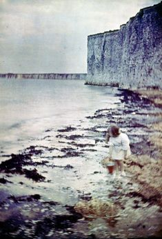 Photos from the early 1900s. The Autochrome process required long exposure times, creating soft and hazy images.