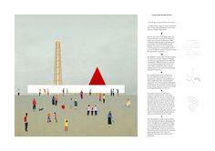 Charlie Hebdo Portable Pavilion Architecture Competition _ modular, portable and flexible architecture