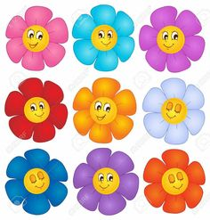 Images Of Flowers In Caricature - Image In Hd 3 HD Wallpapers Teacher Classroom Decorations, Classroom Displays, Classroom Labels, Diy And Crafts, Crafts For Kids, Paper Crafts, Birthday Charts, Page Borders Design, School Frame