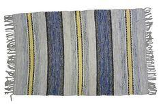 Swedish Rag Rug,  5'4'' x 3' on OneKingsLane.com
