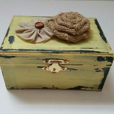 Rustic yellow box