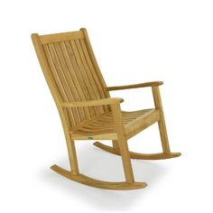 The Veranda Teak Rocking Chair is inspired by the traditional rocker your grandmother may have used. Its contoured backrest and seat maximizes comfort for the outdoors, even without a cushion. It is just as suitable indoors in any living room space. Built for exceptional durability to last a lifetime and certain to become an heirloom piece.