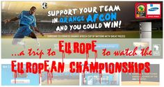 Win A Trip, European Championships, South Africa, Fails, Promotion, Samsung, African, Social Media, Football