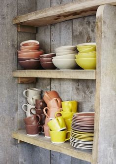 Add some colour in your kitchen! Colorful ceramics from Madam Stoltz.  Now online in our shop.