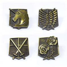 Attack on Titan Emblems – AnimeFam