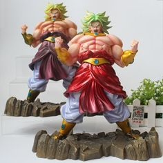 2 color Dragon Ball Z Broly Figurine The Legendary Super Saiyan PVC Collection Model Figure Price history. Dbz, Dragon Ball Z, All Marvel Heroes, Super Saiyan, 2 Colours, Figurative Art, Garden Sculpture, History, Toys