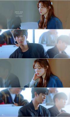 Korean Drama Movies, Korean Actors, Ahn Hyo Seop, Romantic Doctor, Lee Sung Kyung, Weightlifting Fairy Kim Bok Joo, Drama Quotes, Movie Couples, Saranghae