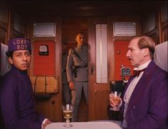 """""""Keep your hands off my lobby boy!"""" - The Grand Budapest Hotel"""