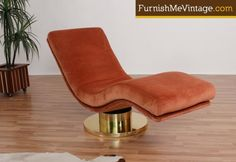 Milo Baughman Serpentine Chaise