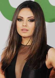 Mila Kunis / perfect hair + makeup