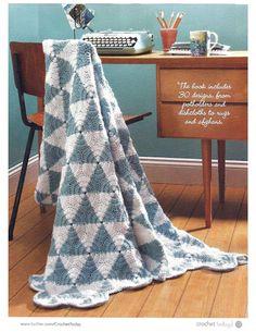 Colcha em Crochet em 3 dimensões