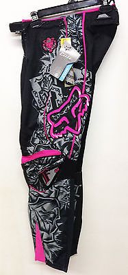 FOX RACING WOMENS ELITE MX MOTOCROSS RACING OFFROAD PERFORMANCE PANT #3, 5, 7