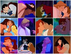 the classic disney moment... true loves kiss :0)
