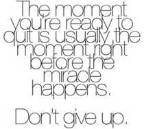 never give up quotes - Bing Images