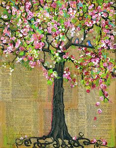 Lexicon Tree Of Life 4 Art Print