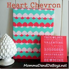 Heart Chevron Tutorial