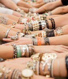 Arm Party! Bracelets!