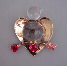 Jolle - jelly belly bird brooch 1945