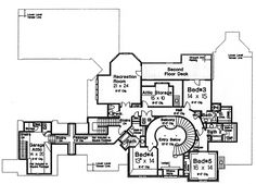 Second Floor of Plan ID: 39871