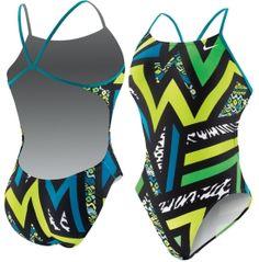 Nike Women's POW! Cut-Out Back Tank Swimsuit - Dick's Sporting Goods