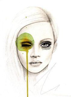Leigh Viner 'Fused' on The Art Folk. Affordable art print, buy art online theartfolk.com