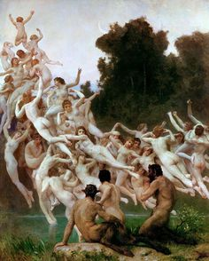The Oreads. William-Adolphe Bouguereau, 1902. #bouguereau #academicart #arthistory