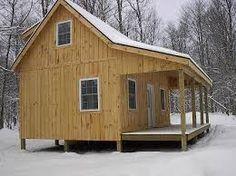 Resultado de imagen para small mountain cabin plans