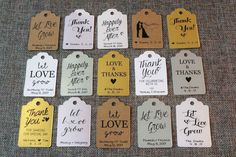 Wedding favor ideas + inspiration to help you ditch the favors guests will toss and give them something unique that they'll want to keep! Cute favor ideas, sustainable wedding favors, food favors, DIY wedding favors and other favors that guests will love! Elegant Wedding Favors, Custom Wedding Favours, Wedding Favors For Guests, Wedding Favor Tags, Wedding Gifts, Wedding Ideas, Rustic Wedding, Quirky Wedding, Personalized Wedding