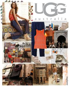 """Meet Me in Marrakech with UGG Australia"" by msamybites ❤ liked on Polyvore"