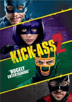 Kick-Ass & Hit Girl team up to defeat an evil league of super-villains led by the former Red Mist. Starring Aaron Taylor-Johnson, Chloe Grace Moretz, Christopher Mintz-Plasse and Jim Carrey. Chloe Grace, Aaron Taylor Johnson, Jim Carrey, Streaming Hd, Streaming Movies, 2 Movie, Movie Stars, New Movies, Movies To Watch