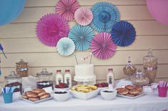 "Photo 17 of 23: Gender Reveal Party / Gender Reveal ""Pink & Blue Ombre Gender Reveal"" 