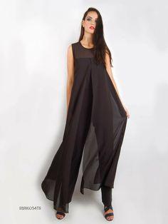 'Sleek Black Jumpsuit'