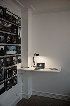 Standing desk 1 -Love this take on the standing desk! so simple!-