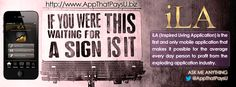If you were waiting for a sign. This is it! Learn & Earn! #MobileApp http://www.AppThatPaysU.biz