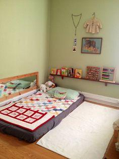 20 ideias lindas de quartos Montessorianos! - Just Real Moms - Blog para Mães