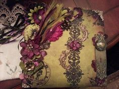 12x12 Steampunk, Gothic, scrapbook photo album European style