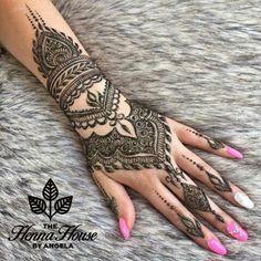 Full Hand Henna Design Images Gallery - Top Cute Henna Design Images Gallery Full Hand for Girl. Cute Henna Designs, Hena Designs, Indian Mehndi Designs, Mehndi Images, Mehandi Designs, Henna Mehndi, Henna Art, Hand Henna, Mehendi